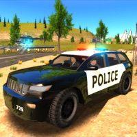 Crime City Police Car Driver